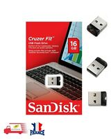 Clé USB SanDisk SDCZ33-016G-Z35 16Go Mini Nano USB Flash Drive Memoire Stick