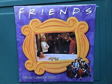 Friends TV Show 2003 Wall Calendar (Jennifer Aniston) (New/Sealed)