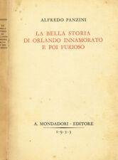 LA BELLA STORIA DI ORLANDO INNAMORATO E POI FURIOSO. . 1933. .