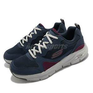 Skechers Arch Fit-KONVOY Navy Grey Men Running Sports Shoes Sneakers 232204-NVMT