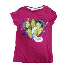 VIOLETTA camiseta de algodón talla 6/7 Años de niña