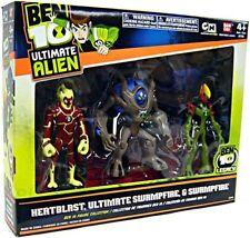 Ultimate Alien Heatblast, Swampfire & Ultimate Swampfire Action Figure 3-Pack