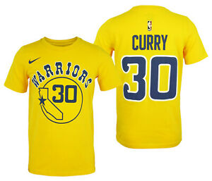 Nike NBA Youth Golden State Warriors Curry #30 Hardwood Classics Dry Fit Tee