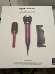 ✨Dyson Supersonic LIMITED 🎀 EDITION Hair DRYER FUCHSIA BRAND NEW IN BOX