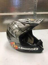**Singed Nick Wey Custom Motocross Helmet**