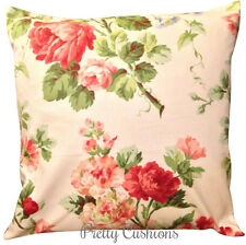 Jane Churchill Roses & Peonies Designer Cushion Cover 16''