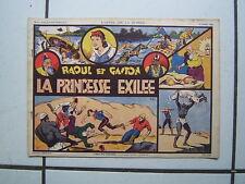 EDITION SAGE / L APPEL DE LA JUNGLE / NUM 3 / RAOUL ET GASTON / 1938