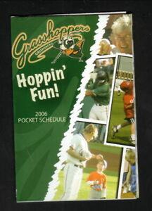 Greensboro Grasshoppers--2006 Pocket Schedule--Friendly Center-Marlins Affiliate