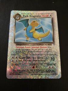 Dark Dragonite Reverse Holo Pokemon Legendary Collection 5/110 **READ Condition*