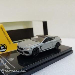 BMW M8 Coupe Donington Grey Metallic RHD PARA 64 1/64 #PA-65213