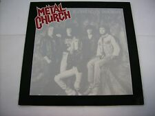 METAL CHURCH - BLESSING IN DISGUISE - LP VINYL 1989 GERMANY PRESS EXCELLENT