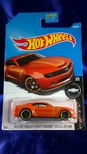 2013 Hot Wheels Chevy Camaro Special Edition Orange Camaro Fifty Series #3/5 New