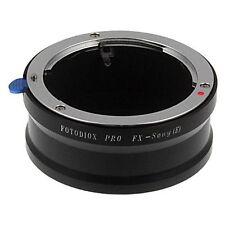 Fotodiox Objektivadapter Pro 35mm Fuji Fujica X Linse für Sony Alpha Nex Kamera