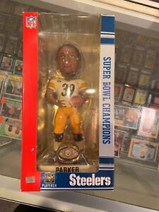 WILLIE PARKER  PITTSBURGH STEELERS SUPER BOWL XL FOREVER BOBBLE HEAD NIB