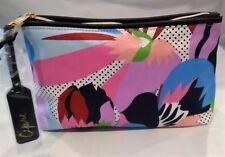 NEW Lot of 7 X Estee Lauder Flower Print Cosmetic Makeup Bag