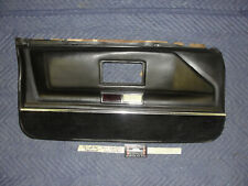 OEM 75 Cadillac Fleetwood 4 DOOR LEFT DRIVER SIDE FRONT LOWER DOOR PANEL BLACK