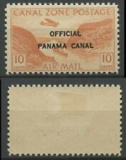 Canal Zone Scott #CO2 - 10c - Orange - Official Panama Canal - Mint