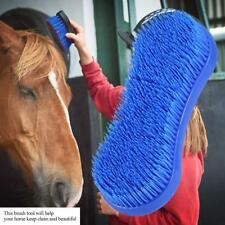 Hot Sale Horse Cleaning Grooming Silicone Brush Equestrian Massage Tool
