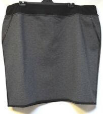 plus sz XL / 24 TS TAKING SHAPE Eclipse Skirt soft stretch reversible warm NWT!