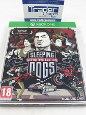 SLEEPING DOGS DEFINITIVE EDITION, XBOX ONE PAL FR SQUARE ENIX