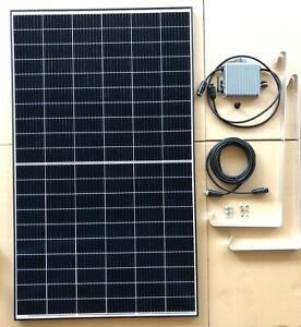 BKKW 340 Watt Balkonkraftwerk Mini PV Photovoltaik Solaranlage inkl. Halterung