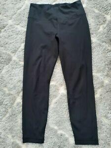 Black Ladies 90 degree by reflex leggings Size XL