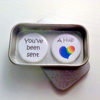 You've Been Sent a Hug Pandemic Quarantine Greeting Card Alternative Magnet Gift