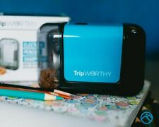 TripWorthy Electric Pencil Sharpener - Battery Operated (No Cord) - Ideal For No