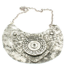 Allure 3 piece handhammered aluminium breastplate necklace