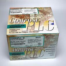 Lightolier Compose CC600VAPLC Dimmer Control - White - NEW
