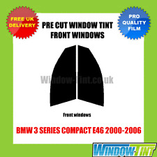 BMW 3 SERIES COMPACT E46 2000-2006 FRONT PRE CUT WINDOW TINT