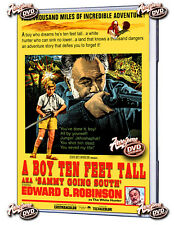 A BOY TEN FEET TALL (AKA Sammy Going South) 1963 USA  DVD Edward G. Robinson