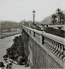 Monaco Monte-Carlo Grande plaque stéréo par Ferrier, Soulier, Lévy, vers 1860