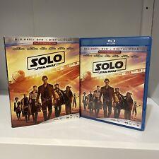 Han Solo A Star Wars Story Sci-Fi Movie on Blu-ray Open