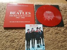 """The Beatles nbd no 18 + Poster 10"""" Double , Splatter  Unplayed Limited 2,000"""