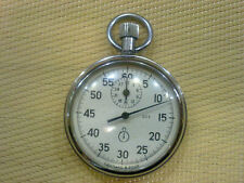 VINTAGE   POCKET STOP WATCH MADE IN USSR