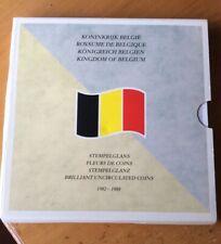 Belgique - Rare série Ratrappage de 1982-88 FR + VL