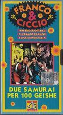 FRANCO E CICCIO - DUE SAMURAI PER 100 GEISHE (1963) VHS