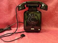 W51 altes Bakelit Telefon Wandtelefon  KRONE Fernsprecher