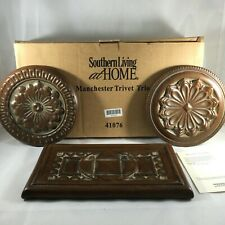 Southern Living at Home Manchester Trivet Trio #41076 Ceramic Wall Hangings