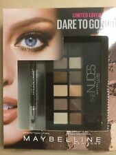 MAYBELLINE DARE TO GO NUDE (THE NUDES ) EYESHADOW + LINE EXPRESS EYELINER NEW.
