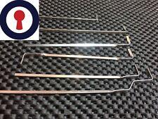 locksmith tools tension bars from Master, 1st P&P Inc