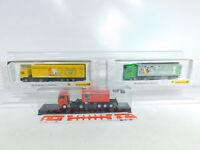 BX355-0,5# 3x AWM 1:87/H0 LKW MAN: 006272 + 006777 + Trailer-Journal, NEUW+OVP