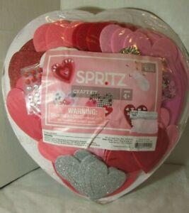 HEART Decorating WREATH FOAM STICKERS  Valentine Day Kit - Spritz - CRAFT
