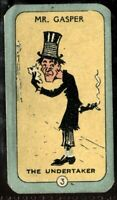Tobacco Card, Carreras, HAPPY FAMILY FAMILIES, 1925, Undertaker, #3