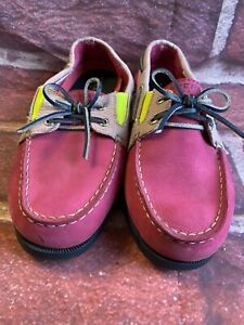Sperry  top sider womens 5M pink Loafer