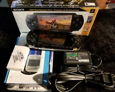 Sony PSP-1001 Entertainment Pack ATV Offroad Fury w/ Box Manuals Adapter Battery