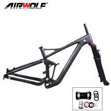 2019 Carbon Suspension MTB Frame 29ER Mountain Bike Enduro Frame Fork 15/17/19