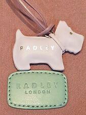 Lo stile più recenti Vera Pelle Radley Rosa Chiaro Dog Tag Borsetta Charm Scotty