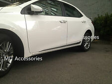 Toyota COROLLA 2014-on outside door body side molding chrome lower